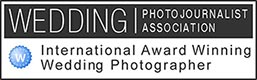 Award Winning Member of Wedding Photojournalist Association